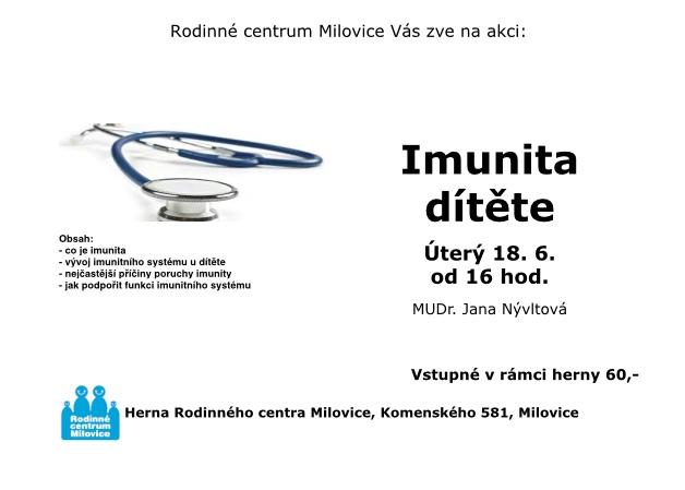 Imunita dítěte 1