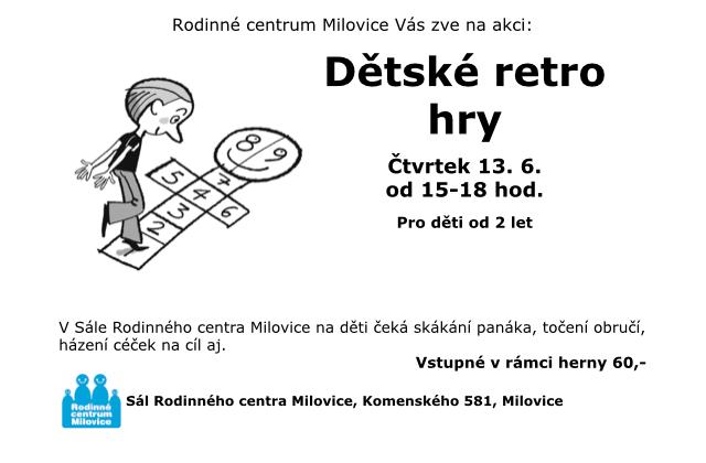 Dětské retro hry 15-18h 1