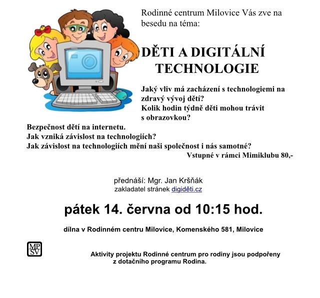 Děti a digitální technologie , 10:15 2