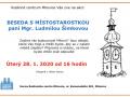 Beseda s místostarostkou paní Mgr. Ludmilou Šimkovou 1