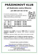 Prázdniny 2020 - příměstský tábor 8-16hod. 1