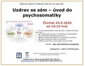Uzdrav se sám – úvod do  psychosomatiky od 10:15 1