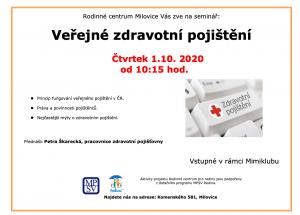 Veřejné zdravotní pojištění 1